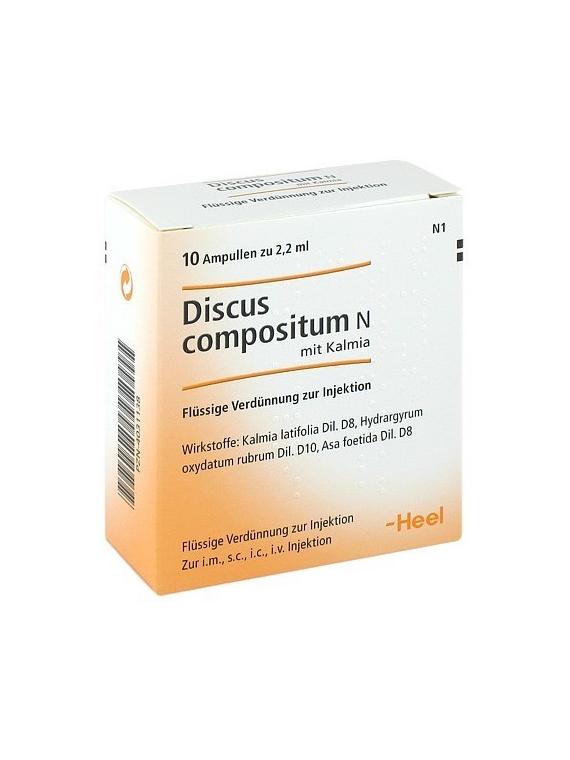 Discus Compositum 5 ampollas Heel