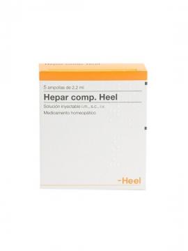 Hepar Compositum N 5 ampollas Heel