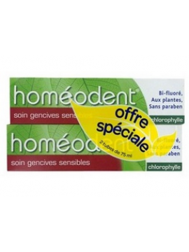 Homeodent duplo encías sensibles (clorofila) Boiron