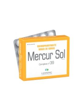 Complejo 39 Mercur sol 60 comprimidos Lehning