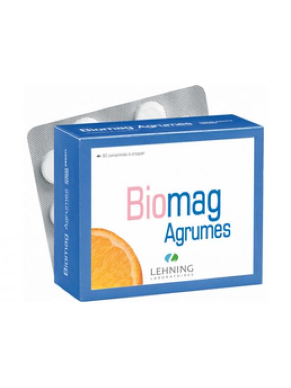 Biomag agrumes 90 comprimidos masticables Lehning