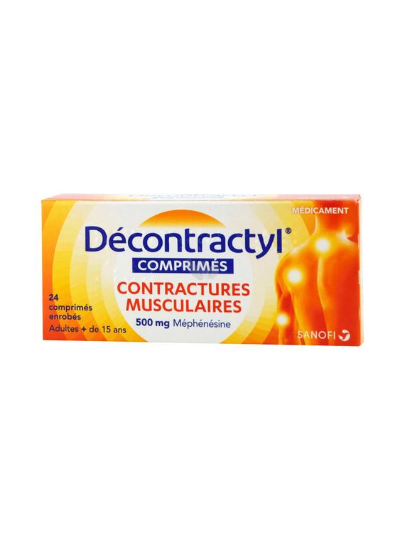 Decontractyl 500mg 24 comprimidos Sanofi
