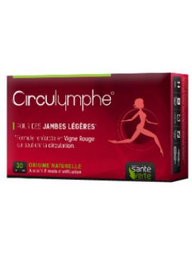 Circulymphe piernas pesadas 30 comprimidos Santé Verte