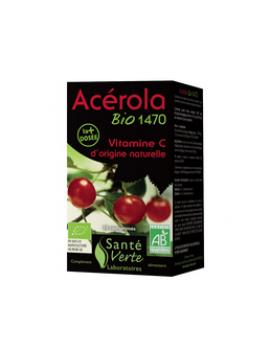 Acerola bio 1470mg vitamina c (20 cp) Santé Verte