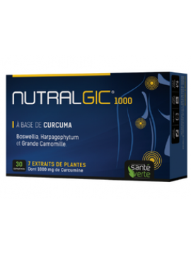 Nutralgic dolor articular 30 comprimidos Santé Verte