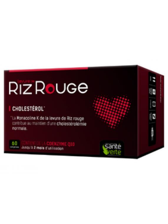 Riz rouge anticolesterol 60 comprimidos Santé Verte