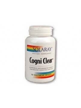Cogni clear 90 cápsulas Solaray