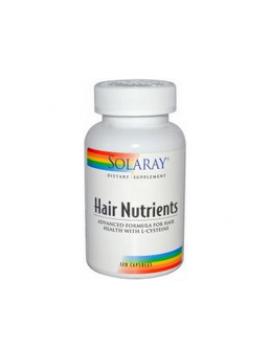Hair Nutrients l-cisteína 120 cápsulas Solaray