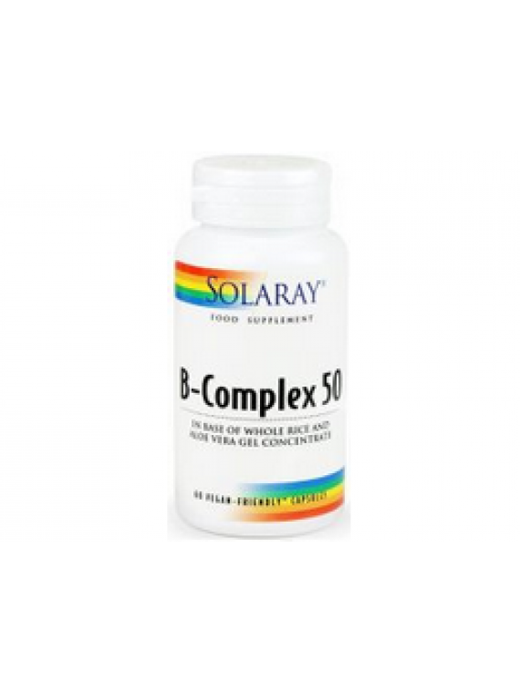 B-complex 50 50 cápsulas Solaray
