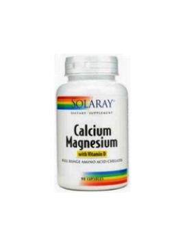 Calcio & Magnesio 90 cápsulas Solaray