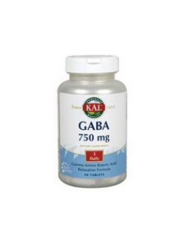 GABA 750mg 90 cápsulas Kal