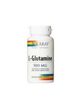 L-glutamine 500mg 50 cápsulas Solaray