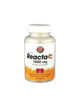 Reacta-c 1000mg 60 tabletas Kal