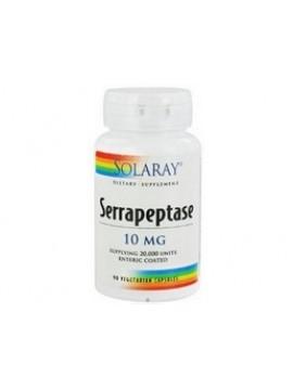 Serrapeptase 10mg 90 cápsulas Solaray