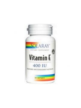 Vitamina e 400 iu 50 perlas Solaray