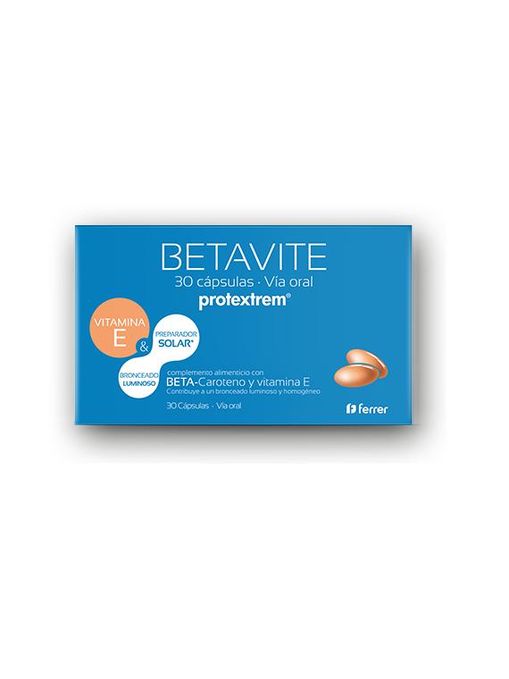 Protextrem Betavite 30 cápsulas preparador solar Ferrer