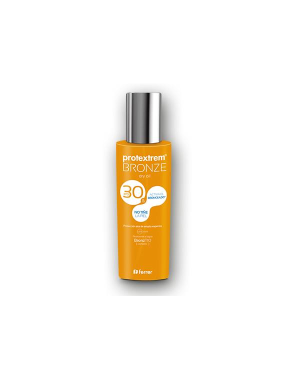 Protextrem Bronze SPF30 aceite seco 200ml + regalo Aceite Sublimador Ferrer