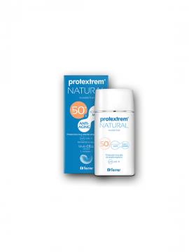 Protextrem Natural SPF50+ textura fluida mate 50ml Ferrer