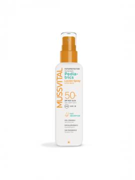 Pediatrics Spray Loción SPF50 200ml Mussvital