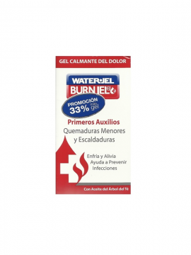 Water Jel Burn Jel gel calmante quemaduras 80ml