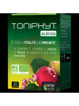 Toniphyt Acerola bio 1470mg vitamina c (20 cp) Santé Verte